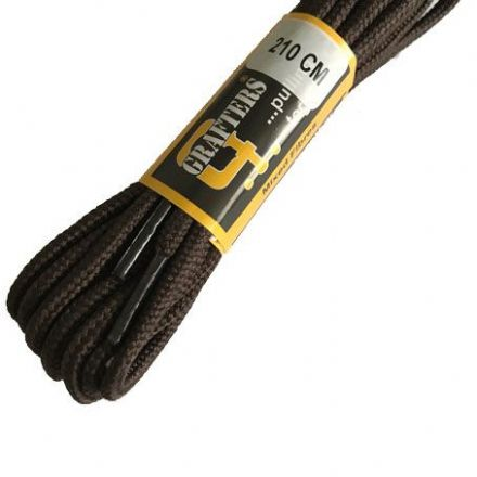 Grafters Brown Boot Laces